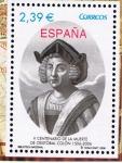 Sellos de Europa - España -  Edifil  4234  V cente. de la muerte de Cristóbal Colón.