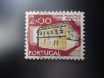 Stamps of the world : Portugal :  Domus Municipalis Braganca