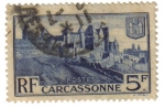Stamps : Europe : France :  Carcassonne
