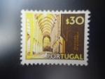 Stamps Portugal -  Mosateiro de Alcobaca.