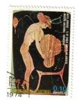 Stamps Africa - Equatorial Guinea -  Arte Griego