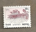 Stamps Nepal -  Templo