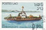 Stamps Laos -  TRANSBORDADOR