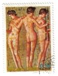 Sellos de Africa - Guinea Ecuatorial -  Arte Romano