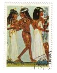 Stamps : Africa : Equatorial_Guinea :  Arte Egipcio