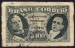 Sellos de America - Brasil -  Presidente Carmona de Portugal y el Presidente Vargas