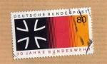 Stamps : Europe : Germany :  Scott 1452. 30 Aniv. Fuerzas Armadas.