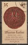 Sellos de Europa - Alemania -  Martin Luther Ceremonia 1983-DDR.