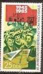 Sellos de Europa - Alemania -  40a Aniversario de la liberación del fascismo (DDR).