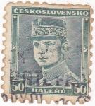 Sellos de Europa - Checoslovaquia -  Stefanik
