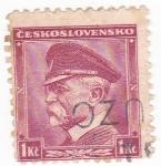 Stamps Czechoslovakia -  Tomas Masaryk