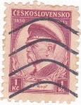 Sellos de Europa - Checoslovaquia -  Tomas Masaryk 1850-1935