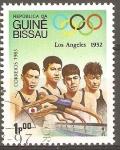 Stamps Guinea Bissau -  JUEGOS  OLIMPICOS  DE  VERANO