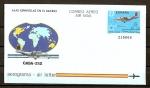 Stamps : Europe : Spain :  Aerograma / Avion CASA C-212.