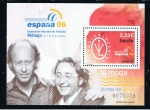 Stamps Spain -  Edifil   4268 SH  Exposición Mundial de Filatelia España 06. Málaga.  · La Moda Victorio y Luccino.