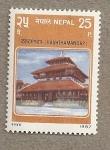 Sellos del Mundo : Asia : Nepal : Templo Kashthamandap