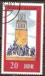 Sellos de Europa - Alemania -  1000 años de Weimar.(Memorial de Buchenwald)DDR.
