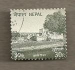 Sellos del Mundo : Asia : Nepal : Edificios