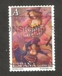 Sellos de Europa - España -  4135 - El circo, Fani y Tini
