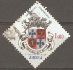 Sellos de Africa - Angola -  ESCUDO  DE  CIUDAD  DE  SALAZAR