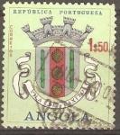 Sellos de Africa - Angola -  ESCUDO  DE  LA  VILLA  DE  CAXITO