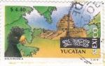Stamps Mexico -  YUCATAN