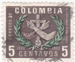 Stamps Colombia -  IV CENTENARIO FRANCISCANO