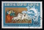 Sellos de Europa - Hungría -  2366-Cent. de la UPU