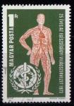 Sellos de Europa - Hungría -  2299-25º aniv. OMS