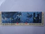 Stamps United States -  Fiesta del Té de Boston - Era Bicentenaria.