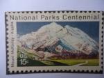 Stamps United States -  National Parks Centennial-Mount McKinley-Alaska