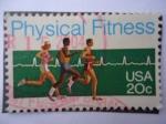 Sellos de America - Estados Unidos -  Physical Fitness