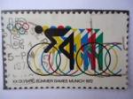 Sellos de America - Estados Unidos -  XX Olympic Summer Games Munich 1972