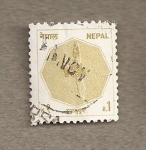 Stamps Nepal -  Daga