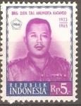 Sellos de Asia - Indonesia -  Brig.  Gen.  KATAMSO