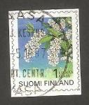 Stamps Finland -  1345 - Flor