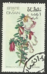 Stamps Asia - Oman -  Flores, flora