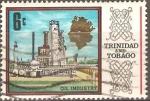 Stamps America - Trinidad y Tobago -  REFINERÌA  PETROLERA
