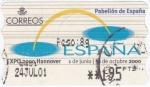 Sellos del Mundo : Europa : España : EXPO-HANNOVER 2000   (V)
