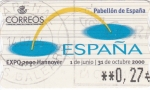 Stamps : Europe : Spain :  EXPO-HANNOVER 2000   (V)