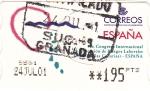 Sellos de Europa - España -  (V)CONGRESO INTERNACIONAL DE RIESGOS LABORALES