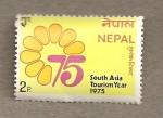 Sellos de Asia - Nepal -  A�o Turismo Asia del Sur