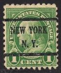 Sellos de America - Estados Unidos -  Benjamin Franklin