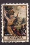 Stamps Spain -  san fco. de asis- l. de morales