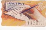 Stamps : Europe : Spain :  ESCRITURA    (V)