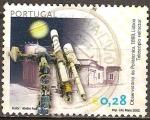 Sellos de Europa - Portugal -   Astronomía Telescopio Observatorio Planetas.