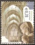 Sellos de Europa - Portugal -  Sitios Patrimonio Mundial de la UNESCO (Monasterio de Alcobaça).