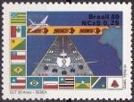 Stamps Brazil -  Servicios Postales - sedex