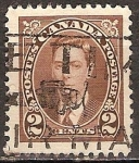 Sellos del Mundo : America : Canadá : El rey Jorge VI.