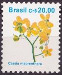 Sellos de America - Brasil -  Cassia macranthera